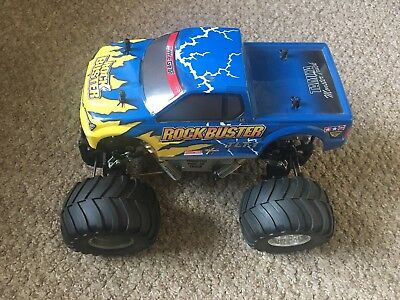 Rare Tamiya TLT-1 1/18 Scale R/C 4x4 Truck Rock Buster