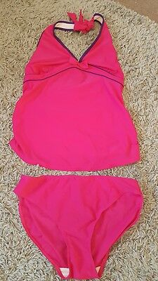 Next maternity tankini / swimming costume size 10
