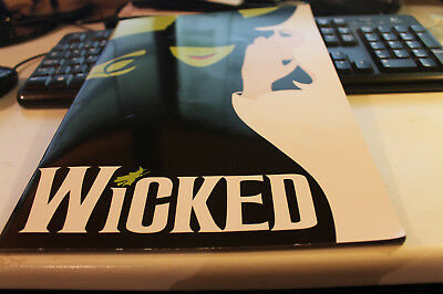 Wicked Playbill from Pantages Theater in Los Angeles, CA VGC