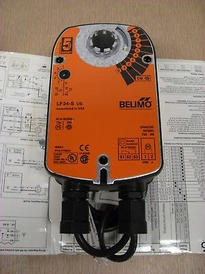New Belimo LF24-S US 24V 34in-lb 4Nm On/Off Spring Return Actuator Free Shipping