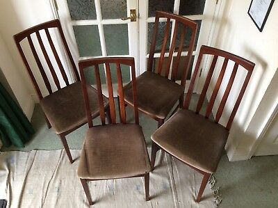 William Lawrence Mahogany Dining Chairs