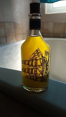 Vintage AVON decanter CAPTAIN'S PRIDE OLAND After Shave, Free Shipping