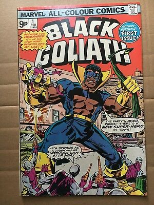 Black Goliath # 1 4.0 Bronze Age First Issue Pence