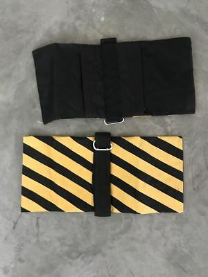 2 Black Yellow Heavy Duty Sand Bags Photography Studio Video Light Stand Sandbag