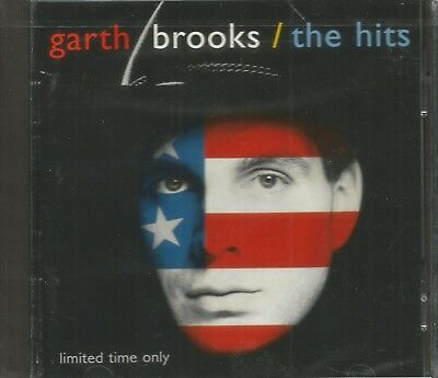 GARTH BROOKS The Hits CD RARE LTD ED Best of Greatest Hits NEW STILL SEALED 1994