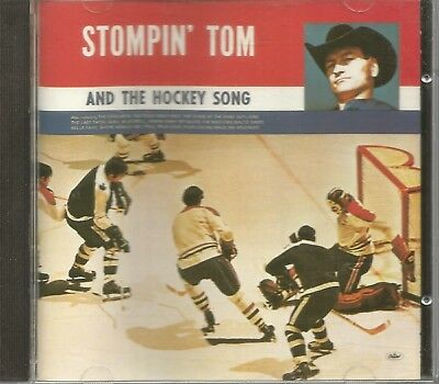 STOMPIN' TOM CONNORS And The Hockey Song CD RARE Capitol 1972