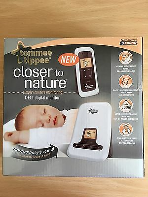 Tommee Tippee Closer To Nature Dect Digital Baby Monitor