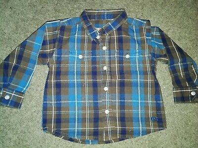 french connection boys shirt 12-18 months