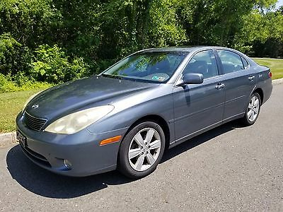 2005 Lexus ES Base Sedan 4-Door CLEAN Carfax NO RESERVE 2005 Lexus ES330 Fully Loaded Sunroof Leather Rim ES 330