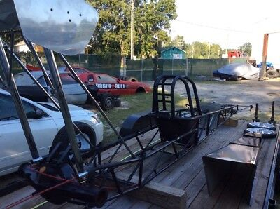 """Race Car Chassis-1989 Suncoast 215"""" with parts"""