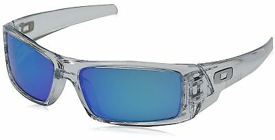 New OAKLEY Sunglasses GASCAN OO9014-1760 60-15 Clear Frame with Sapphire Iridium