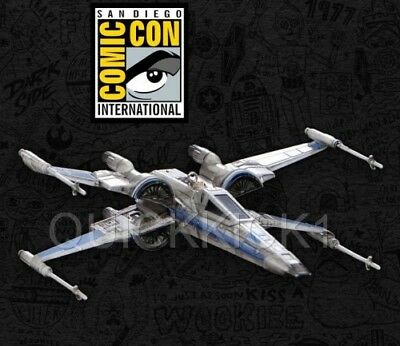 T-70 X-Wing Fighter Hallmark Ornament 2017 Sdcc Comic Con Exclusive! Sold Out!