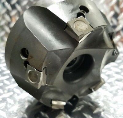 "Spabo 3"" Indexable Shell End Face Mill 3/4 Arbor Mount 4 006005 R 101 U Germany"
