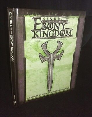 Kindred of the Ebony Kingdom (Hardcover, 2003) RARE