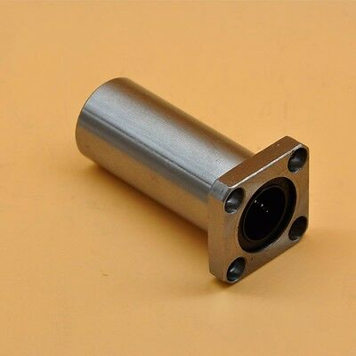 1Pcs Precision LMK12LUU Long Square Flange Linear Motion Ball Bearing 12*21*57mm