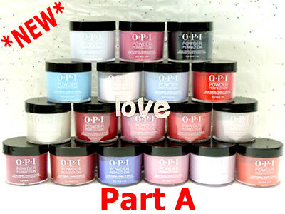 *NEW* OPI Color Dipping Powder Perfection Collection Dip Part A* /Choose Any
