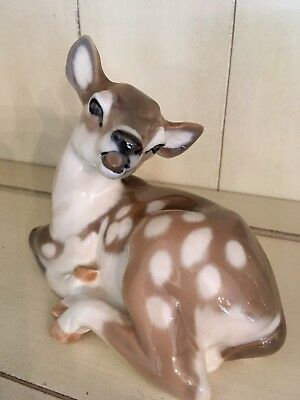 """6"""" x 5"""" DEER (#2609), ST) By Royal Copenhagen ~ Perfect Condition!"""