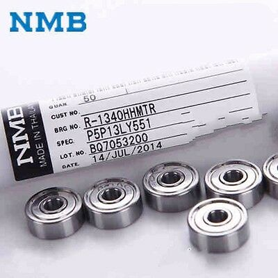 10PCS High Quality Super Precision Ball Bearing 624ZZ NMB624 (R-1340HH) 13*4*5mm