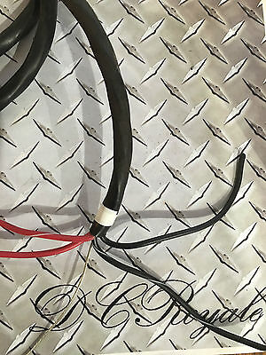 Whelen 4 Conductor Power Cable for Light Bar, Audio, Remote approx 10-14 feet