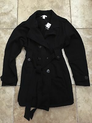 Motherhood Maternity XL Extra Large Black Winter Coat Jacket NEW NWT Sexy Warm