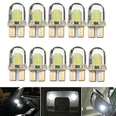 10X LED T10 Canbus SMD W5W Standlicht Lampe 8 COB Auto Weiß InnenraumBeleuchtung
