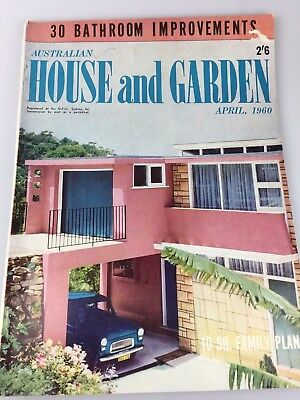 House & Garden Magazine - April, 1960 - Great Vintage And Retro Ads