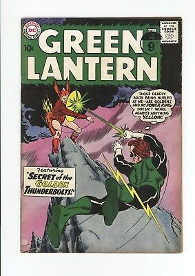 Green Lantern #2 - Unrestored Mid Grade Fn 5.5 - Fantastic Cover! - 1960