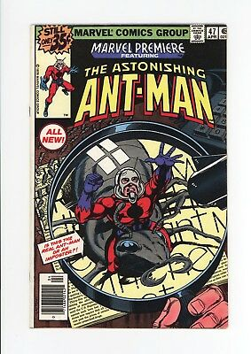 MARVEL PREMIERE #47 - HIGH GRADE VF 7.5 - ALL NEW ANT-MAN - April, 1979