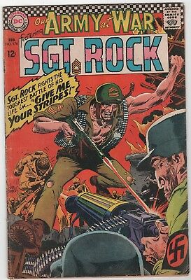 Our Army At War #176 In Good 2.0 Condition (Feb, 1967, DC)