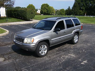 2001 Jeep Grand Cherokee Limited 2001 Jeep Grand Cherokee Limited 4x4