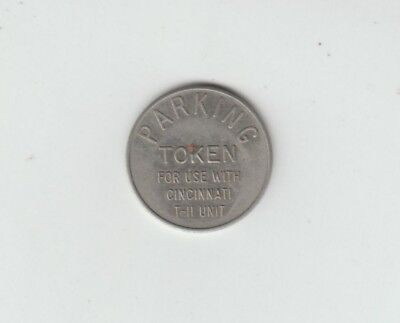 [65549] VINTAGE CINCINNATI, OHIO PARKING TOKEN (T-11 UNIT) 25mm