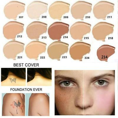 Dermacol Waterproof High Covering Conceal Make up Foundation Film Studio Cover d