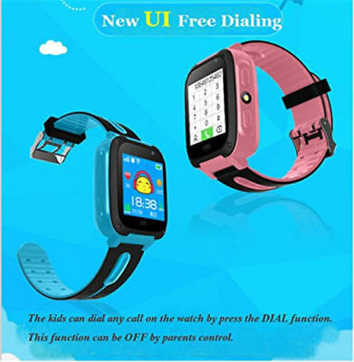 Anti-Lost Smart Watch Camera With Flashlight Tracker SOS Help For Kids