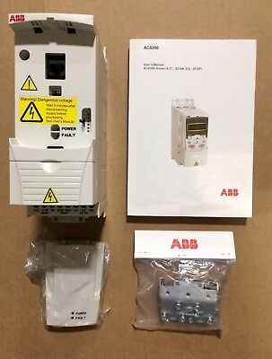 ABB ACS350-03U-04A1-4 ** 2HP, 3-Phase, 380-480V, IP20, Variable Frequency - NEW