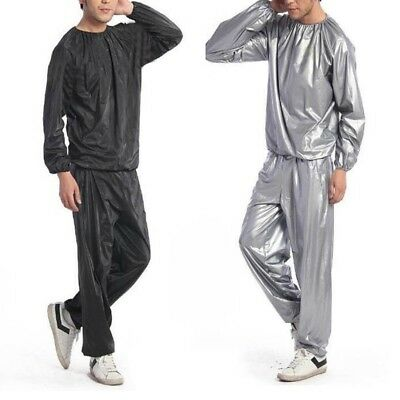 Unisex Fitness Basic Weight Loss Sweat Promoting Exercise Lightweight Sauna Suit
