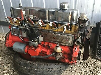 Holden 186P Engine - 6 Cylinder Red Motor