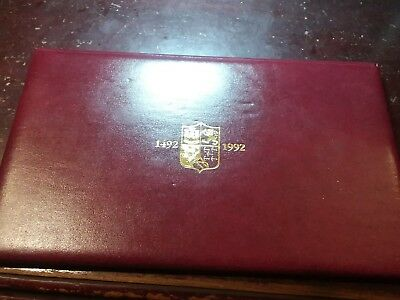 Official Discovery of America 500th Anniversary Coin & Stamp Collector's Set