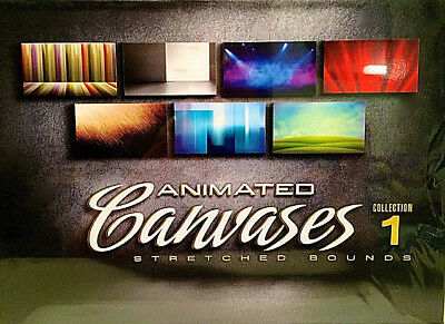 Digital Juice New Unopened Animated Canvases 1