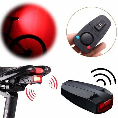 Cycling Waterproof Anti-theft Bicycle Bike Security Remote Control Alarm A3