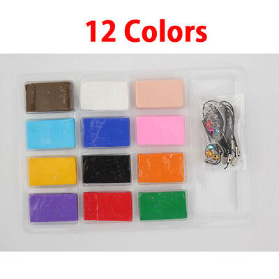Modeling Clay Air Dry Ultra Light Molding Magic Clay 12 Colors , Best Kids Gift