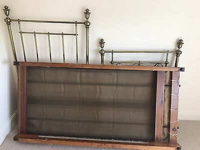 Victorian brass and iron Single Bed