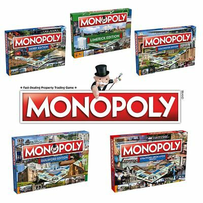 Monopoly Board Games - New City Editions - Choose your favourite!