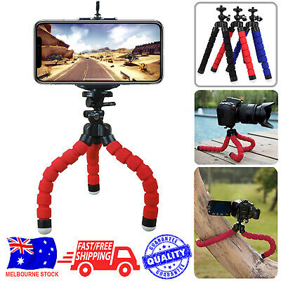 Camera Phone Holder Flexible Octopus Mini Tripod Bracket Stand For iPhone