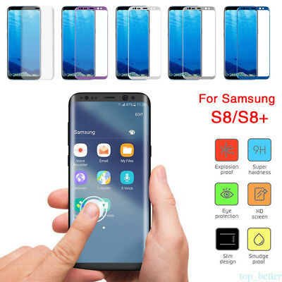 Premium Tempered Glass Screen Protector Film fr Samsung Galaxy S7 Edge S8 note 8