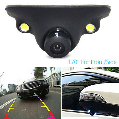 170° Waterproof CCD Car Rear View Side View Blind Spot Camera Night Vision Cam