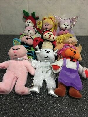 34 Beanie Bears & 12 Mini Beanie Bears With & Without Tags (46)