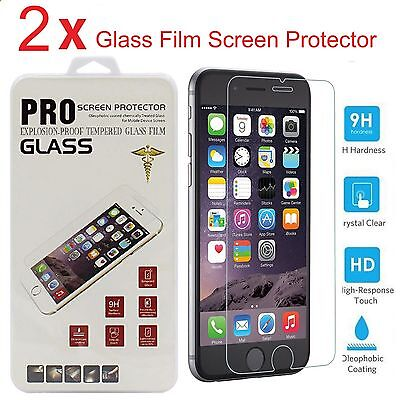 "2X  Premium Real Tempered Glass Film Screen Protector for Apple 4.7"" iPhone 6 6S"