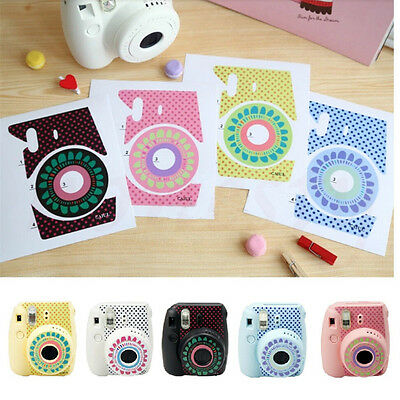 Flower Protection Cameras Decor Skin Sticker For Fujifilm Instax Mini 8 Camera