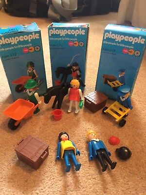 1974 Vintage Playpeople PORTER ✧ Railway Marx Toys Playmobil  Toy Collection 3