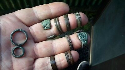 11 Medieval And Later Finger & Other Rings